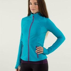 Size 4 Lululemon Base Runner Jacket Stretch Top